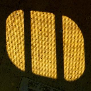 shadow on yellow