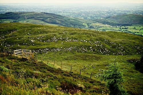 ireland landscape hills northernireland slievegullion