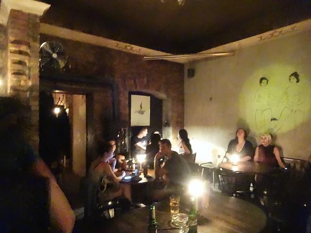 Random Berlin bar.