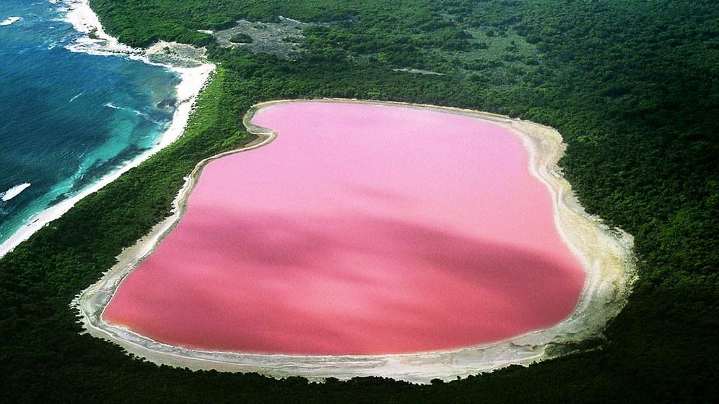 Hiller Lake (Pink Lake)