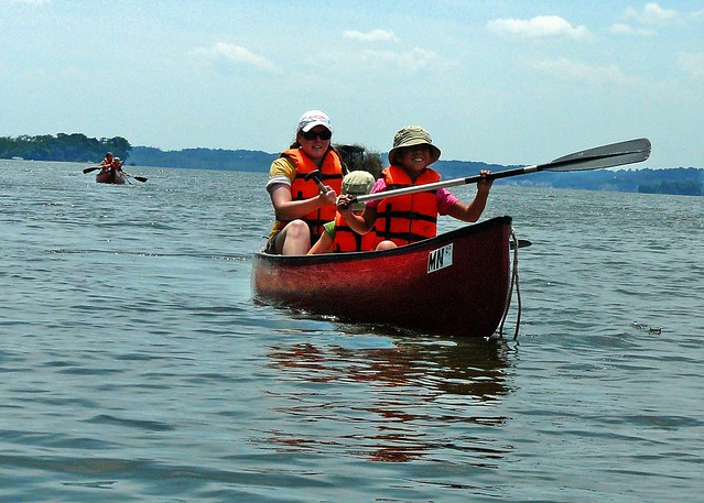 Canoeing at Mason Neck State Park