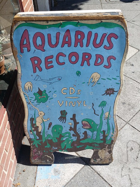 Header of Aquarius Records