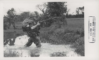 Corporal James Wormington Crosses a Streem, 1967