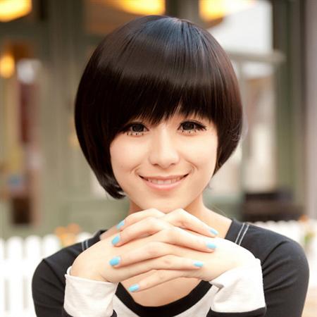Các kiểu tóc ngắn đẹp! Tóc ngắn ép, uốn xoăn Hàn Quốc 17