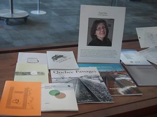 Carleton U library book display