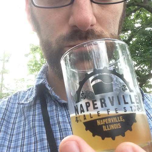 Nate at the Naperville Ale Fest