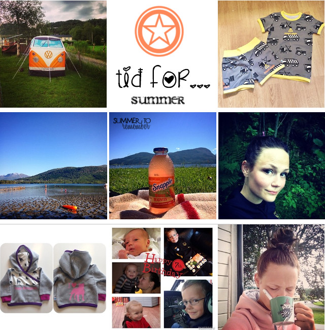 collage sommerferie