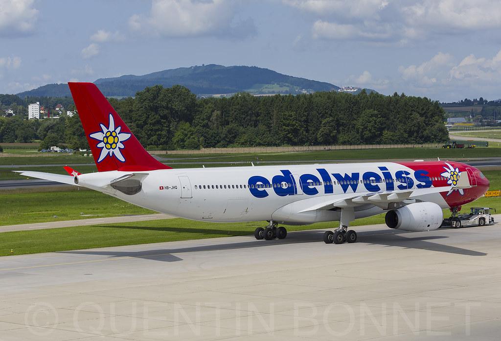 Edelweiss Air Airbus A330-343 HB-JHQ
