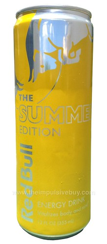 Red Bull Summer Edition Energy Drink