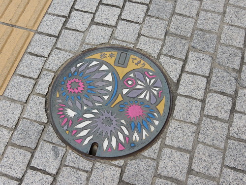 Matsumoto Temari on drain covers