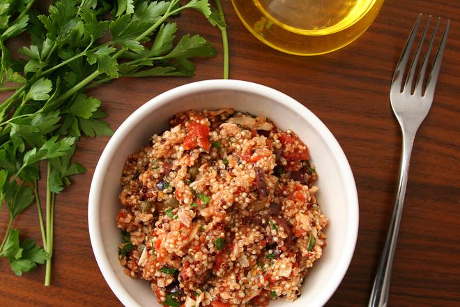 quinoa puttanesca 1