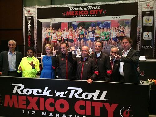 Conferencia de prensa Medio Maratón Rock 'n' Roll Ciudad de México