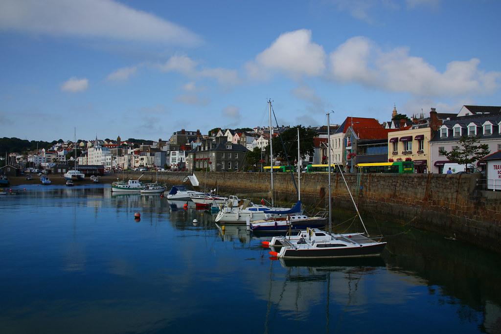 St Peter Port, Guernsey Island
