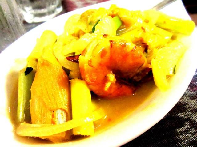 Payung Cafe, Sibu belimbing prawns