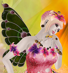 Poet's Heart  Tinka ~ Dream Close up