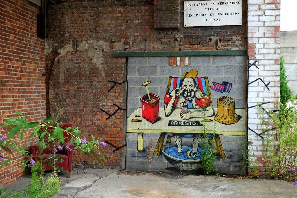 streetart   resto   ghent . belgium