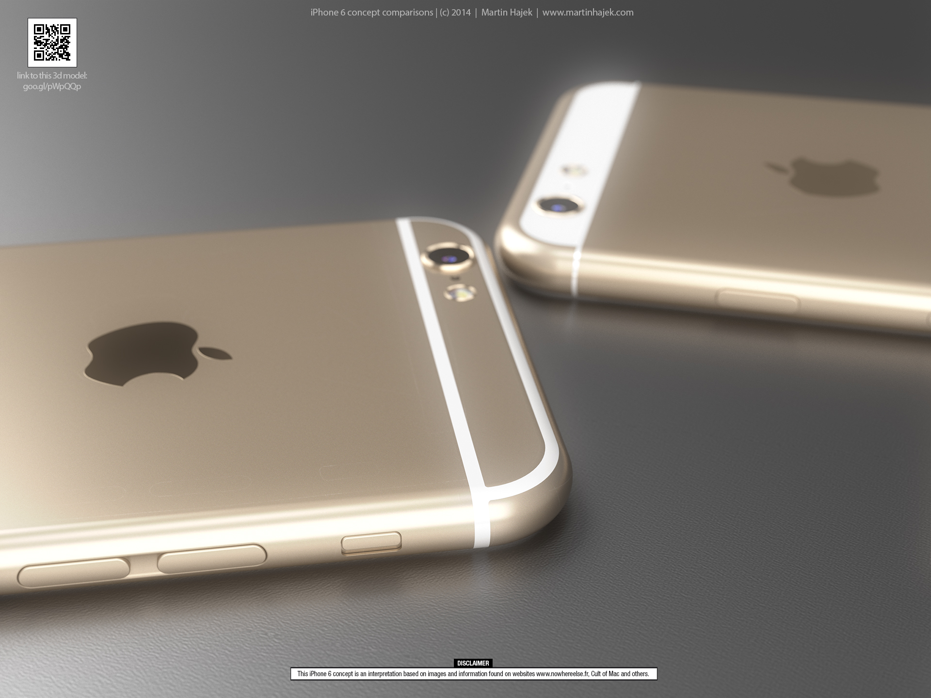iPhone 6 concept comparison