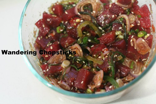Hawaiian Spicy Tuna Poke 5