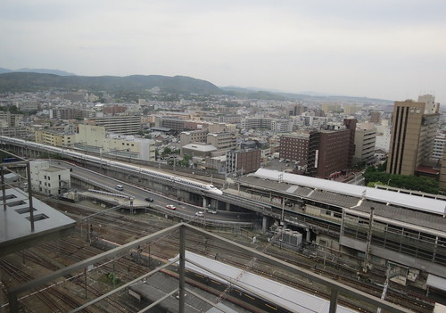 View from the Hotel Granvia Kyoto