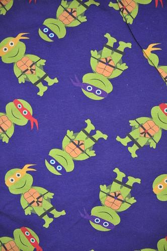 Full Scale turtles  interlock knit