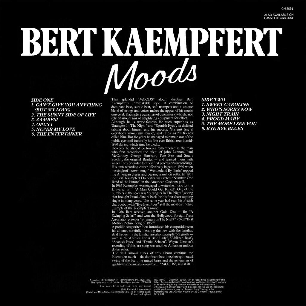 Bert Kaempfert - Moods