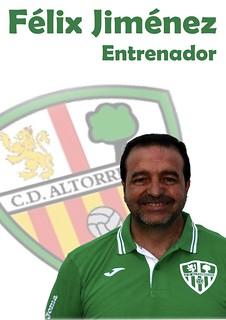 Entrenador: Félix Jiménez García (Temporada 2014/2015)