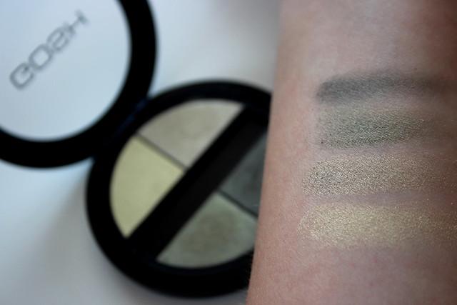 GOSH Quattro Eyeshadow palette Green Valley ByDagmarValerie Beauty