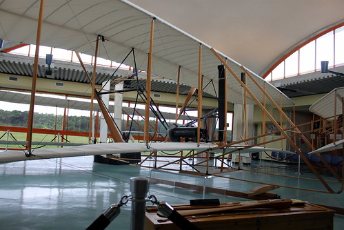 Model of the Wright Bros. Airplane