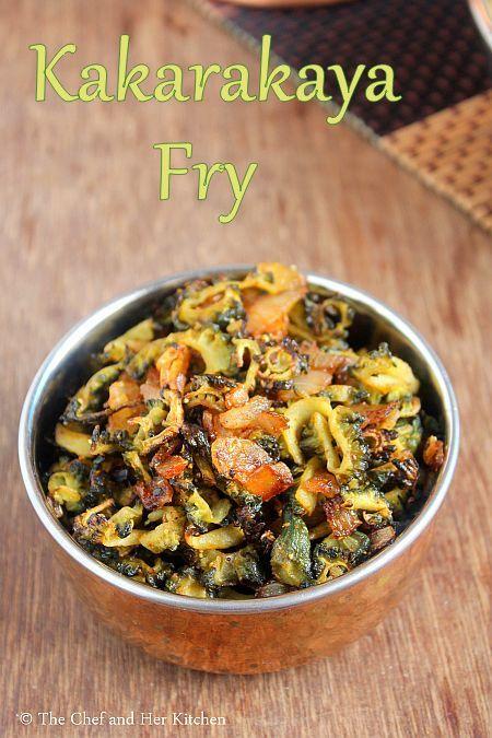 kakarakaya fry