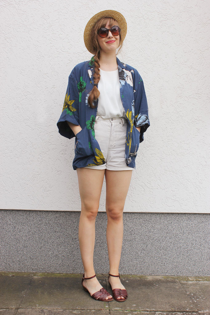 kimono outfit inspiration - outfit blogger kimono - strandlook blogger - beach look