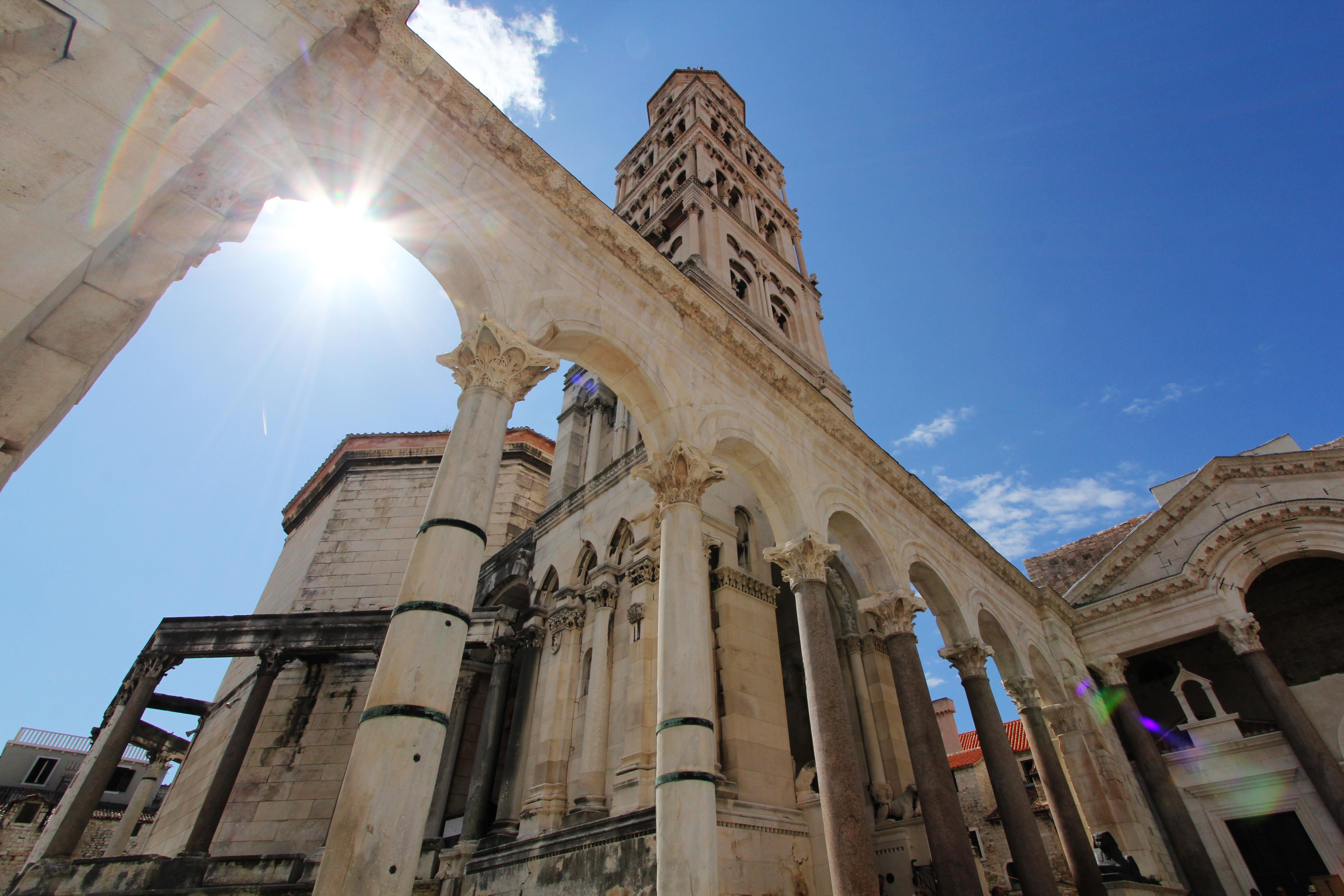 Historic core of Split