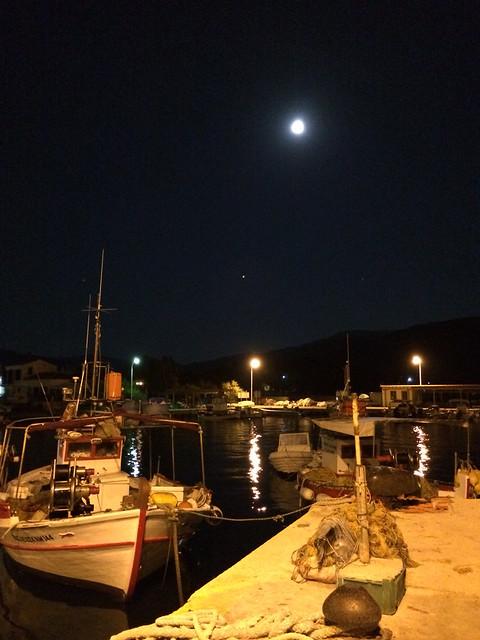 Άγιος Ευστράτιος. Αυγουστιάτικη πανσέληνος / Agios Efstratios. August full moon