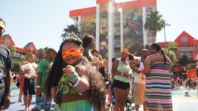 Teenage Mutant Ninja Turtles Guinness World Record Breaking at Nick Hotel