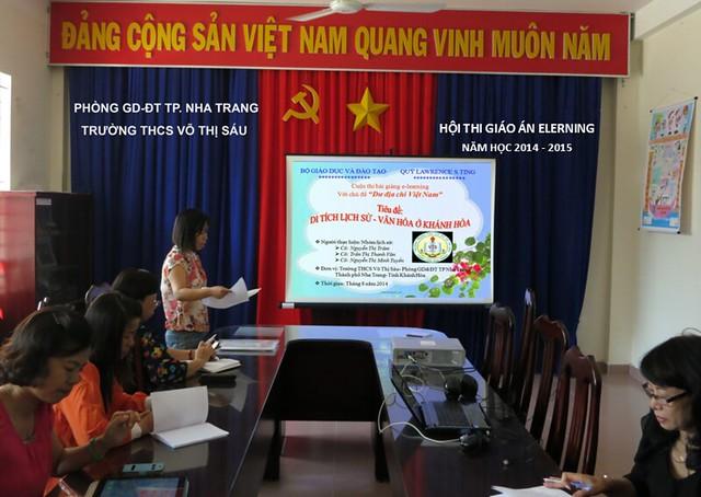 """Hội Thi Thiết Kế Bài Giảng E-Learning với chủ đề """" DƯ ĐỊA CHÍ VIỆT NAM"""" NĂM 2014"""