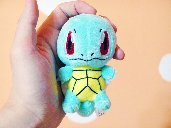 squirtle soft toy japan  2