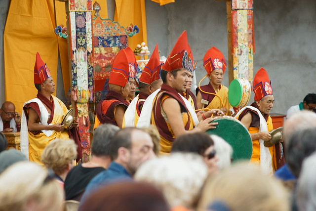 Cham dance, festival at Takthok Gompa. Ladakh, 06 Aug 2014. 126