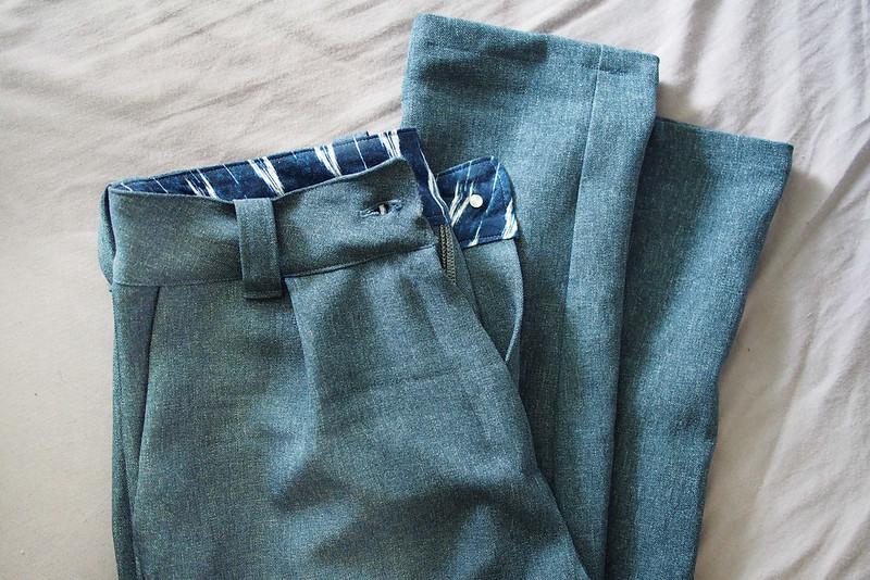 Burda 7017 pants