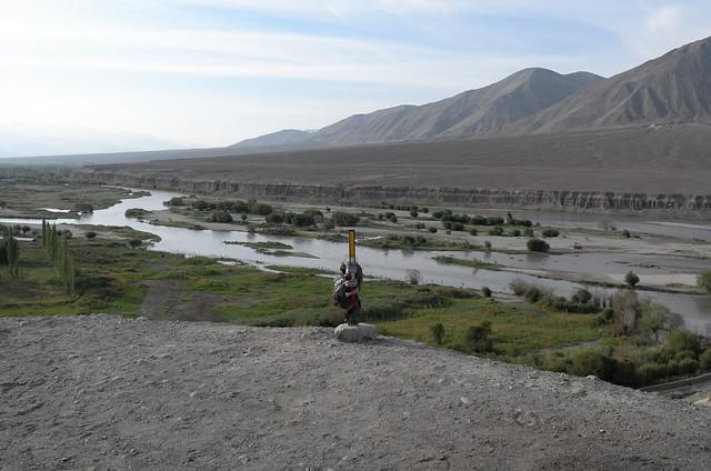 Indus river, Ladakh, 07 Aug 2014. L066