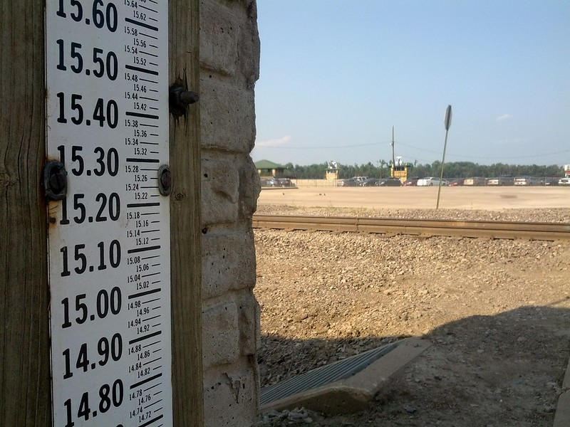 Flood Gauge, Hannibal, Missouri