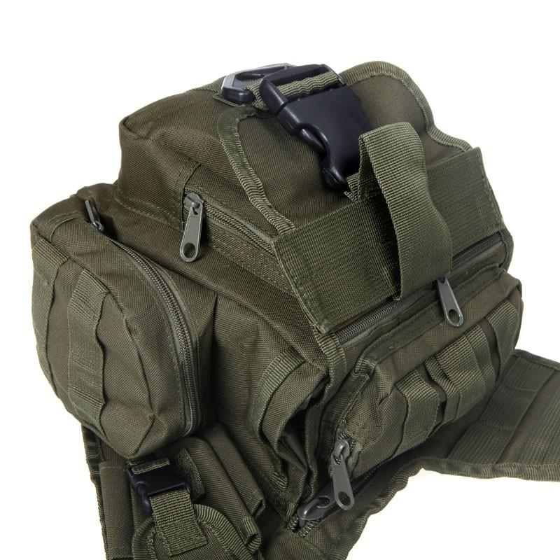 Bolsa de ombro tatica : Bolsa t?tica de ombro transversal bornal militar r