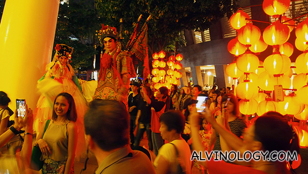 Cultural fun at Esplanade for mid autumn celebration