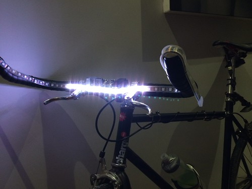 BlinkyTape bike indicators