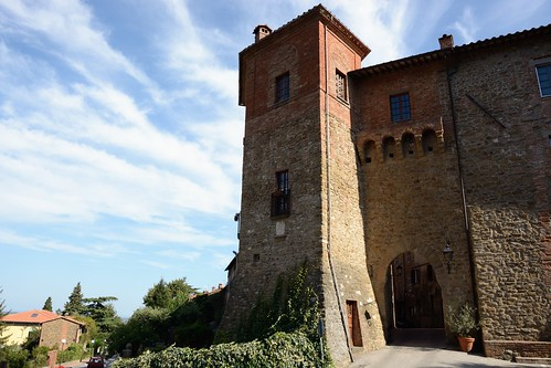 Paciano - castello Buitoni