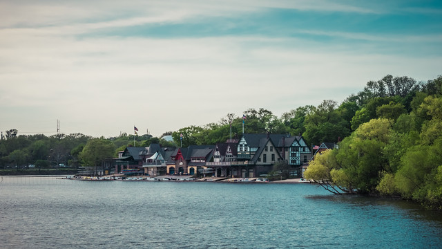 The Boathouse Row