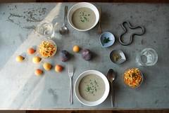Creamy Zucchini & Mushroom Soup