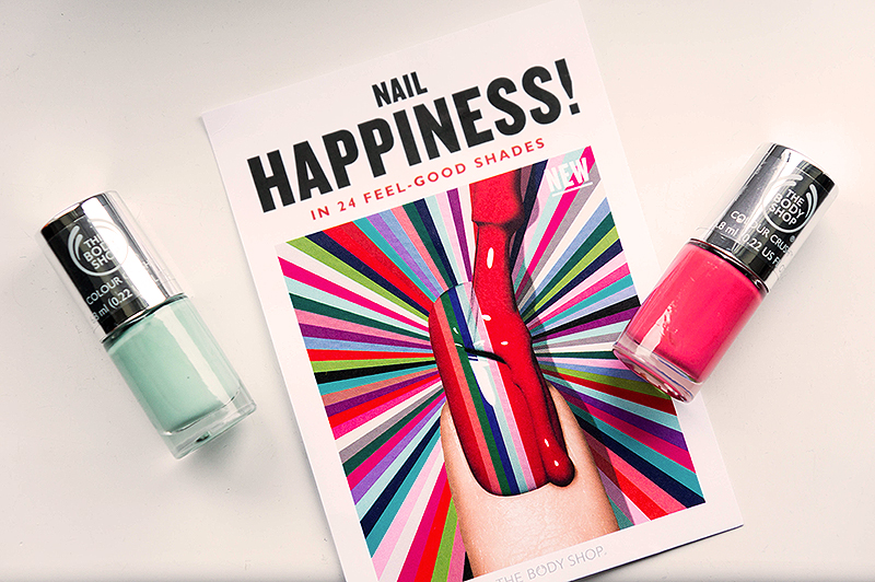 Up & Coming From The Body Shop: Colour Crush Nail Polish | www.latenightnonsense.com