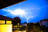 Electric storm in Anglet