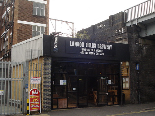 London Fields Brewery Tap Room, London Fields, London E8