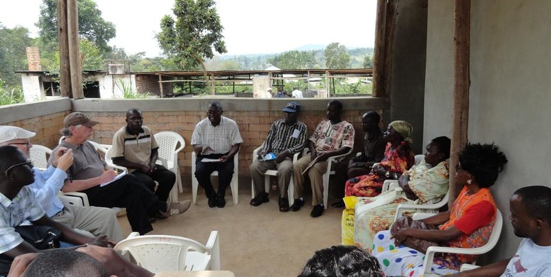 Group meeting with Kabonera-Kyanamukaaka Cooperative Executives