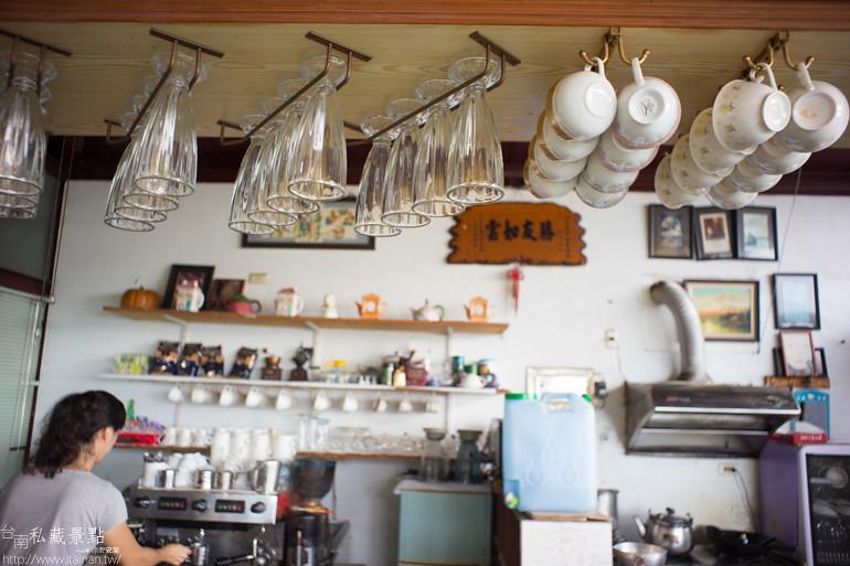 台南私藏景點--香榭彎咖啡 (6)